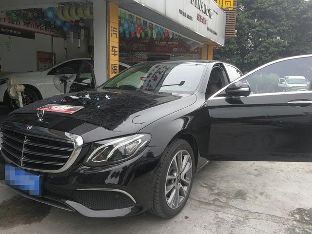 深圳车乐汇汽车音响改装-奔驰E300L 音响升级奔驰专车专用旋转高音 最佳高频听感