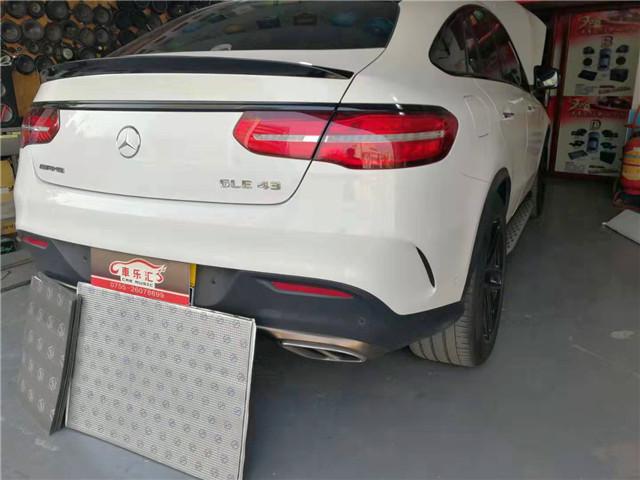 安静超乎你想象 奔驰GLE43 AMG 隔音改装俄罗斯StP-深圳车乐汇汽车隔音改装