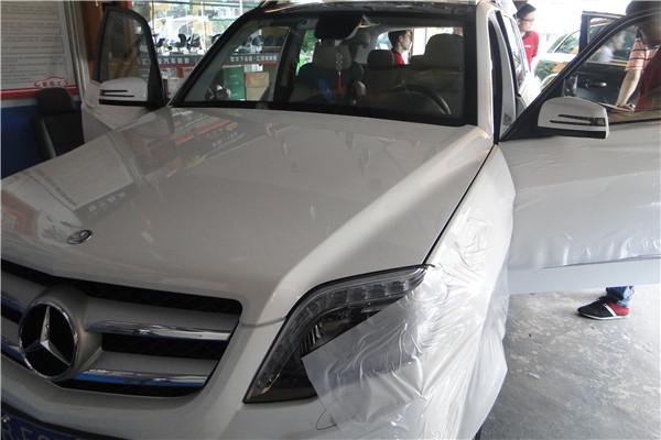 深圳车乐汇---奔驰GLK300汽车音响改装
